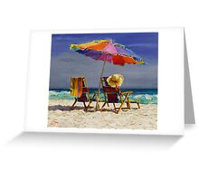 Leisure Time Greeting Card