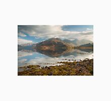Five Sisters of Kintail in early November. Loch Duich. North West Highlands. Scotland. Classic T-Shirt