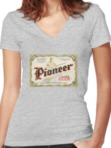 pioneer Women's Fitted V-Neck T-Shirt