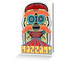 Bad Robot - HAZZAH! Greeting Card