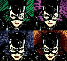 Four Catwomen by RadRecorder