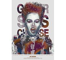 Gozer Says Choose (Off-White Background) Photographic Print