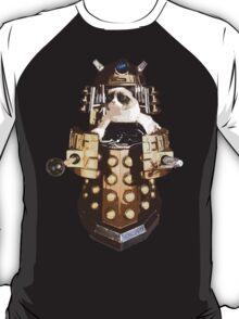 Grumpy Dalek - Exterminate Everybody T-Shirt