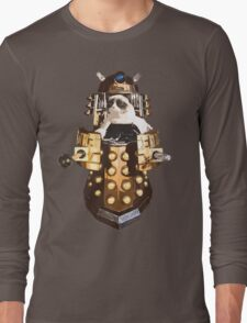 Grumpy Dalek - Exterminate Everybody Long Sleeve T-Shirt