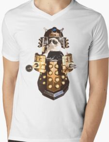 Grumpy Dalek - Exterminate Everybody Mens V-Neck T-Shirt
