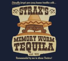 Strax's Memory Worm Tequila Kids Clothes