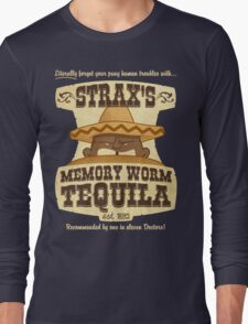 Strax's Memory Worm Tequila Long Sleeve T-Shirt