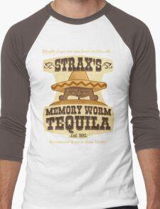 Strax's Memory Worm Tequila Men's Baseball ¾ T-Shirt