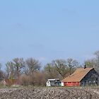 An Iowa Barn by Jean Martin