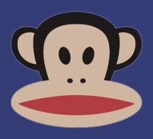 Monkey face logo by DaWombat