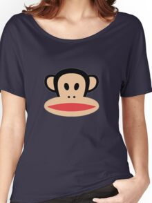 Monkey face logo Women's Relaxed Fit T-Shirt