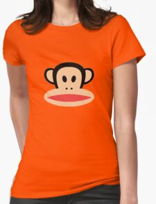 Monkey face logo Womens Fitted T-Shirt