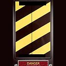 High Voltage Ghost Trap - iphone 5, iphone 4 4s, iPhone 3Gs, iPod Touch 4g case by www. pointsalestore.com