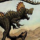 FINSKULL THA POISONOUS!!!! Earth Beasts Awaken creature art apparel by Brian Engh