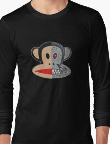 Alien Monkey face logo Long Sleeve T-Shirt