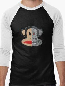 Alien Monkey face logo Men's Baseball ¾ T-Shirt