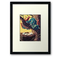 Pokemon - Sneasel Goes Grocery Shopping Framed Print
