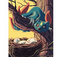 Pokemon - Sneasel Goes Grocery Shopping Photographic Print