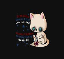 Warm kitty, sleepy bucky Unisex T-Shirt