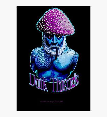 Old Man Mushroom Photographic Print