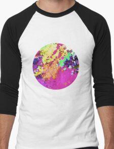 Glitch 10 Men's Baseball ¾ T-Shirt
