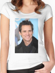 Jim Carrey Women's Fitted Scoop T-Shirt
