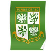 Forest City SC // America League // PCGD Poster