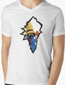 Vivi Ornitier the Black Mage Mens V-Neck T-Shirt
