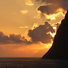 Sunset - Funchal by Marilyn Grimble