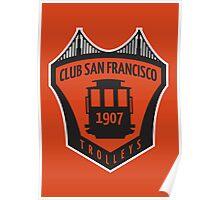 Club San Francisco // America League Poster