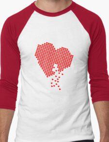 Heart of Hearts Men's Baseball ¾ T-Shirt