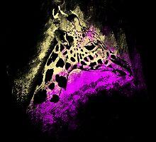 Giraffe Splashed by JordanDesigning