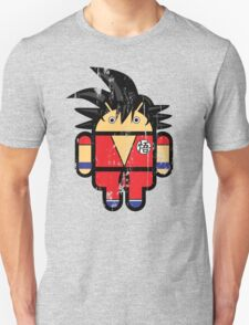 Goku from Dragonball goes Google Android Style! T-Shirt
