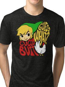 Guess What? Cucco Butt. Tri-blend T-Shirt