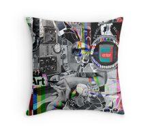 Radio Controller. Throw Pillow