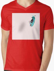 vintage vespa Mens V-Neck T-Shirt