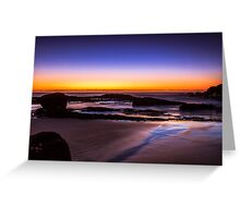 Natures Sunrise Greeting Card