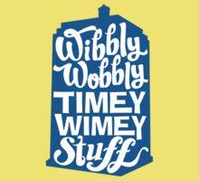 Timey Wimey Kids Tee