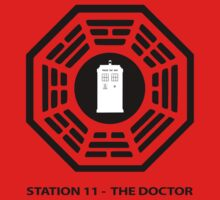 Station 11 - The Doctor  One Piece - Long Sleeve