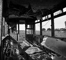 Dilapidated Tram by Fotomus-Digital