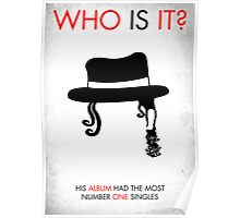 Michael Jackson - WHO IS IT? Poster