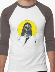 Zombie Jesus [without text] Men's Baseball ¾ T-Shirt