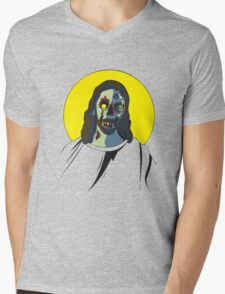 Zombie Jesus [without text] Mens V-Neck T-Shirt