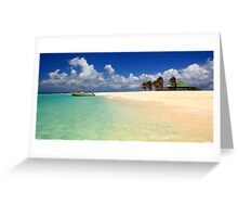 Sandy Island, Anguilla Greeting Card