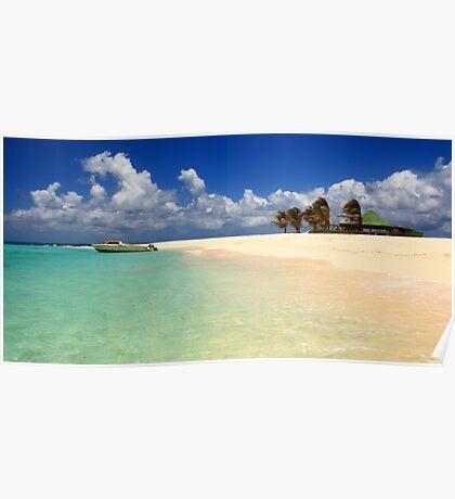 Sandy Island, Anguilla Poster