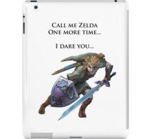 Zelda: I Dare You iPad Case/Skin