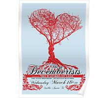 The Decemberists - Concert Poster Poster