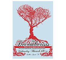 The Decemberists - Concert Poster Photographic Print