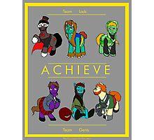 My Little Achievement Photographic Print