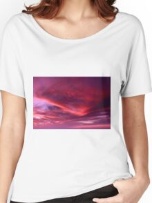 Sky Colours Women's Relaxed Fit T-Shirt
